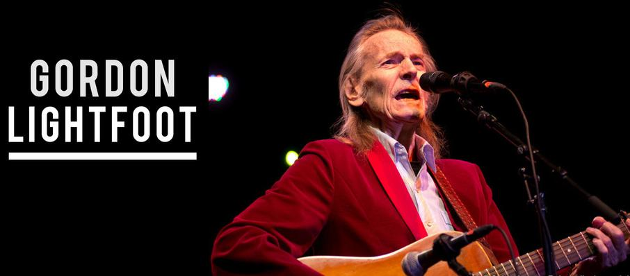 Gordon Lightfoot at Stanley Theatre
