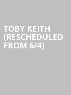 Toby Keith (Rescheduled from 6/4) at Utica Memorial Auditorium