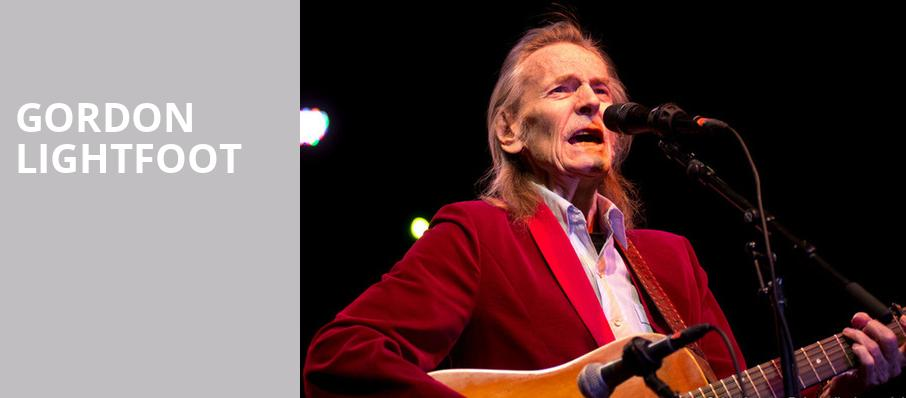 Gordon Lightfoot, Stanley Theatre, Utica